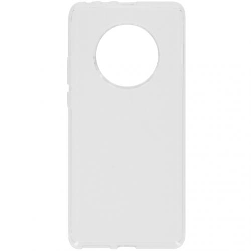Softcase Backcover voor de Huawei Mate 40 Pro - Transparant