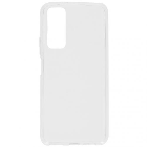 Softcase Backcover voor de Huawei P Smart (2021) - Transparant