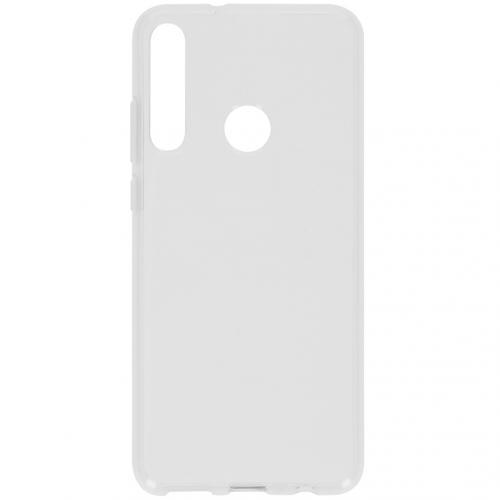 Softcase Backcover voor de Huawei Y6p - Transparant