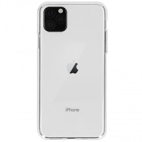 Softcase Backcover voor de iPhone 11 Pro Max - Transparant