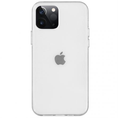 Softcase Backcover voor de iPhone 12 5.4 inch - Transparant