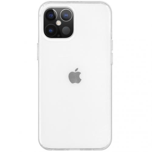 Softcase Backcover voor de iPhone 12 6.7 inch - Transparant