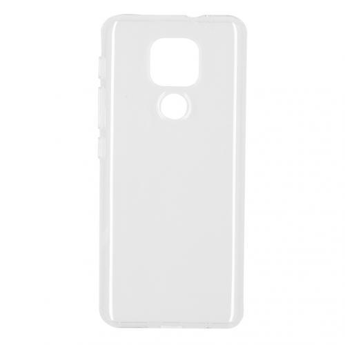 Softcase Backcover voor de Motorola Moto E7 Plus / G9 Play - Transparant