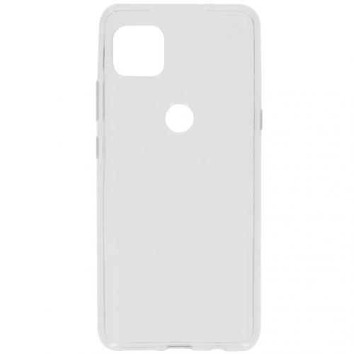 Softcase Backcover voor de Motorola Moto G 5G - Transparant
