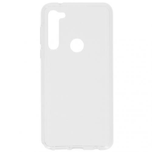 Softcase Backcover voor de Motorola Moto G Pro - Transparant