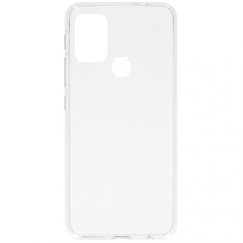Softcase Backcover voor de Motorola Moto G30 / G10 (Power) - Transparant