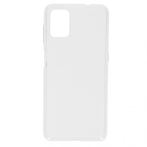 Softcase Backcover voor de Motorola Moto G9 Plus - Transparant