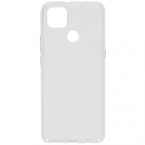 Softcase Backcover voor de Motorola Moto G9 Power - Transparant