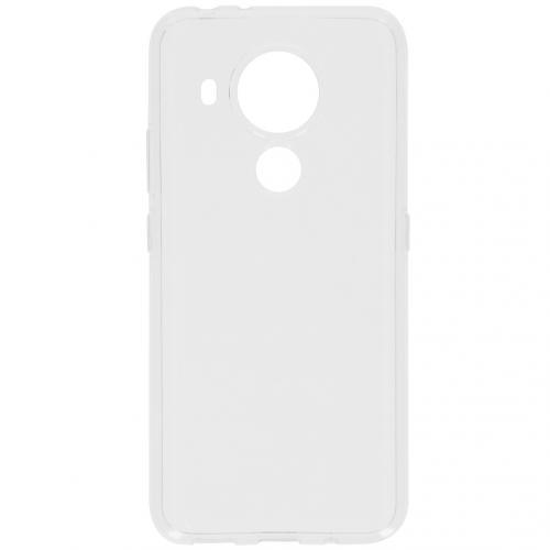 Softcase Backcover voor de Nokia 3.4 - Transparant