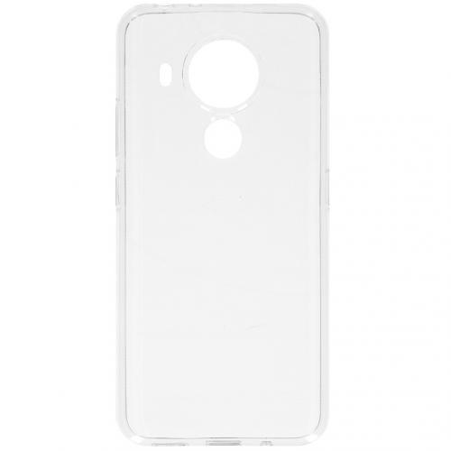 Softcase Backcover voor de Nokia 5.4 - Transparant