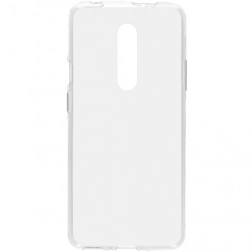 Softcase Backcover voor de OnePlus 7 Pro - Transparant