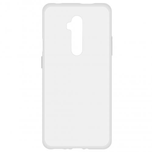 Softcase Backcover voor de OnePlus 7T Pro - Transparant