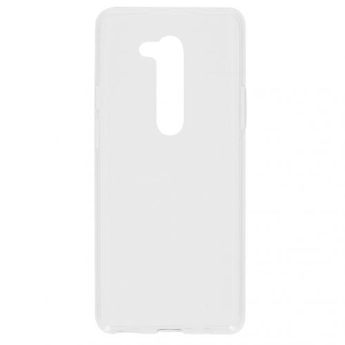 Softcase Backcover voor de OnePlus 8 Pro - Transparant