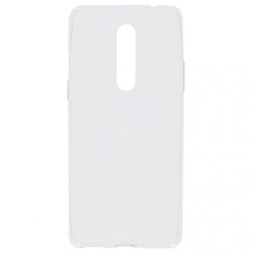 Softcase Backcover voor de OnePlus 8 - Transparant