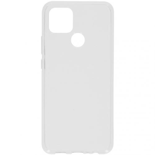 Softcase Backcover voor de Oppo A15 - Transparant