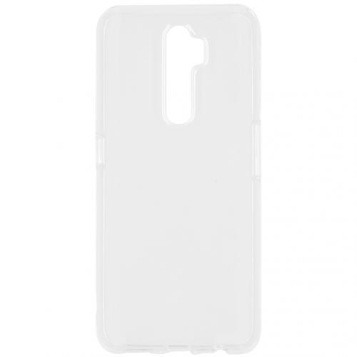Softcase Backcover voor de Oppo A5 (2020) / A9 (2020) - Transparant