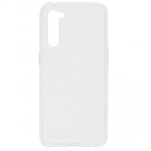 Softcase Backcover voor de Oppo Find X2 Lite - Transparant