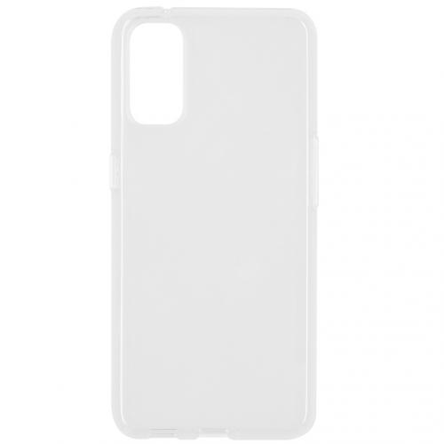 Softcase Backcover voor de Oppo Reno4 5G - Transparant