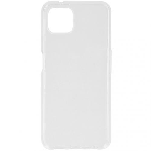 Softcase Backcover voor de Oppo Reno4 Z 5G - Transparant