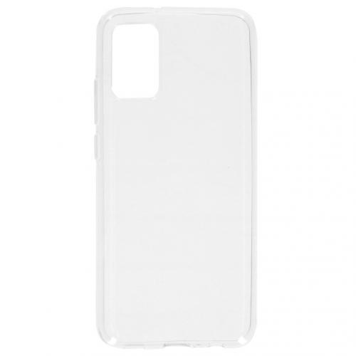 Softcase Backcover voor de Samsung Galaxy A02s - Transparant