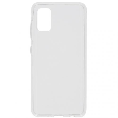 Softcase Backcover voor de Samsung Galaxy A41 - Transparant