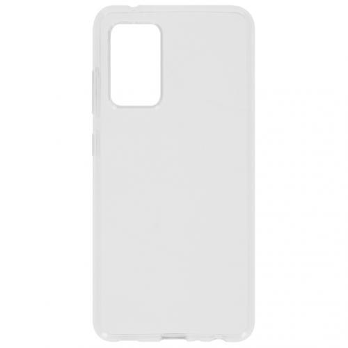 Softcase Backcover voor de Samsung Galaxy A52 (5G) / A52 (4G) - Transparant