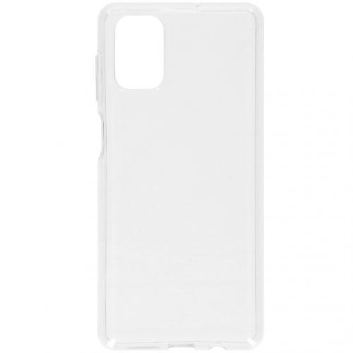 Softcase Backcover voor de Samsung Galaxy M51 - Transparant