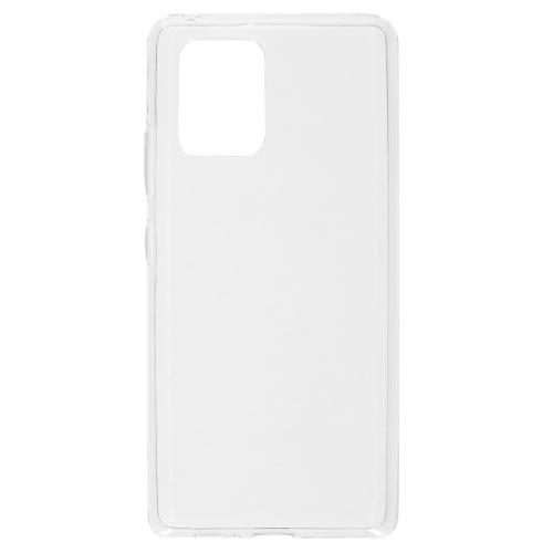 Softcase Backcover voor de Samsung Galaxy S10 Lite - Transparant