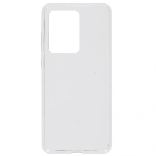 Softcase Backcover voor de Samsung Galaxy S20 Ultra - Transparant