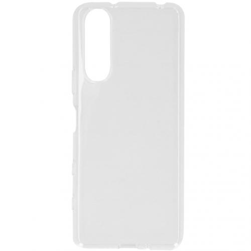 Softcase Backcover voor de Sony Xperia 5 II - Transparant