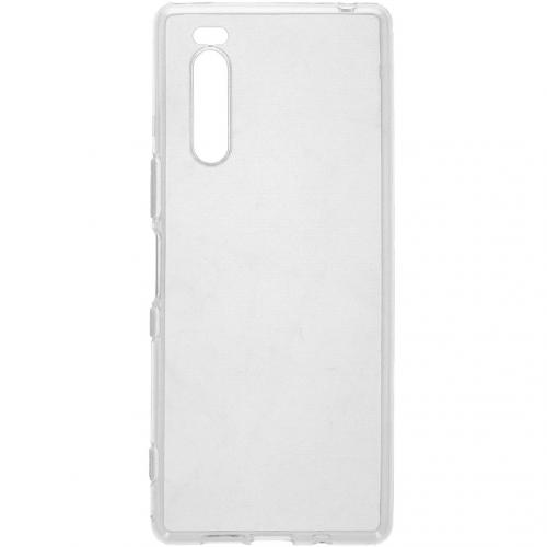 Softcase Backcover voor de Sony Xperia 5 - Transparant