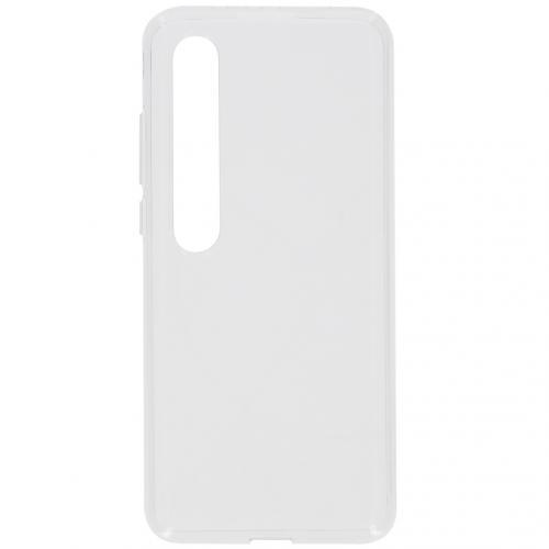 Softcase Backcover voor de Xiaomi Mi 10 (Pro) - Transparant