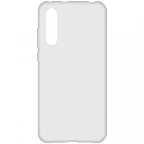 Softcase Backcover voor de Xiaomi Mi 9 Lite - Transparant
