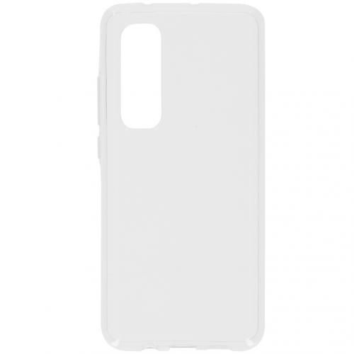 Softcase Backcover voor de Xiaomi Mi Note 10 Lite - Transparant