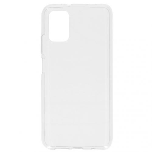 Softcase Backcover voor de Xiaomi Poco M3 - Transparant