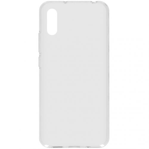 Softcase Backcover voor de Xiaomi Redmi 9A - Transparant