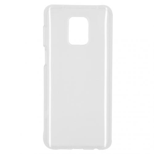 Softcase Backcover voor de Xiaomi Redmi Note 9 Pro / 9S - Transparant