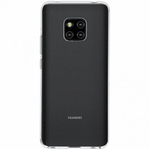 Softcase Backcover voor Huawei Mate 20 Pro - Transparant