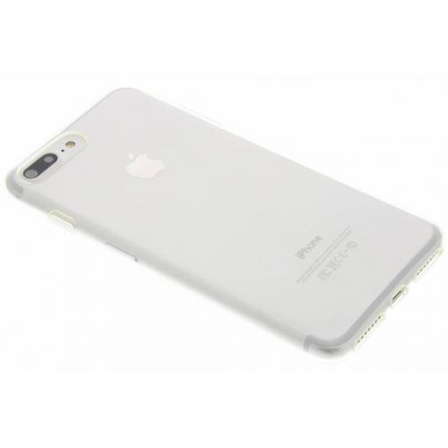 Softcase Backcover voor iPhone 8 Plus / 7 Plus - Transparant