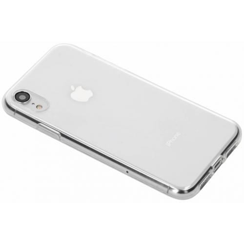 Softcase Backcover voor iPhone Xr - Transparant