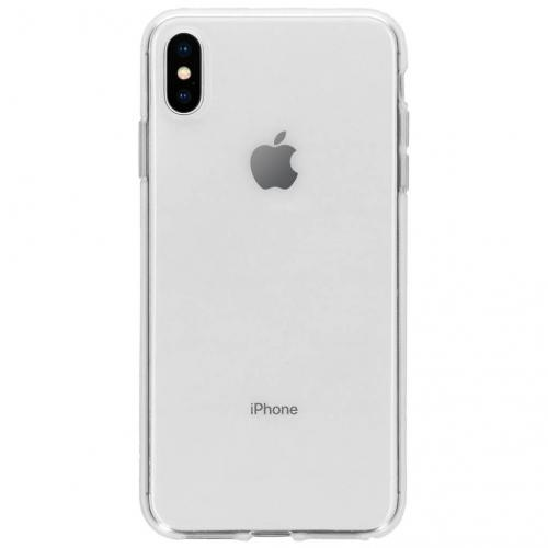 Softcase Backcover voor iPhone Xs Max - Transparant