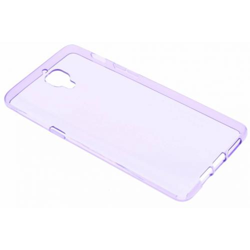 Softcase Backcover voor OnePlus 3 / 3T - Paars