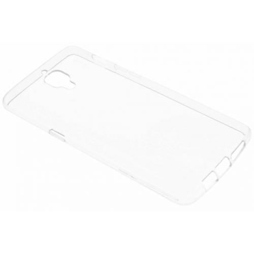 Softcase Backcover voor OnePlus 3 / 3T - Transparant