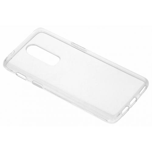 Softcase Backcover voor OnePlus 6 - Transparant