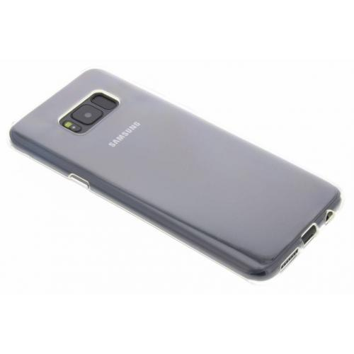 Softcase Backcover voor Samsung Galaxy S8 Plus - Transparant