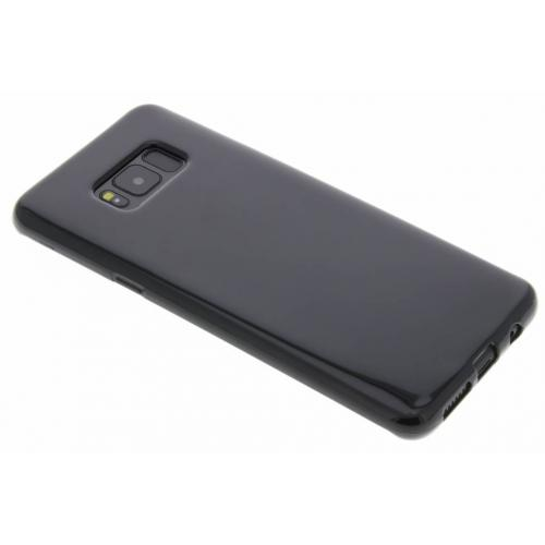 Softcase Backcover voor Samsung Galaxy S8 Plus - Zwart