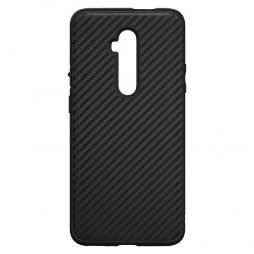 SolidSuit Backcover voor de OnePlus 7T Pro - Carbon Fiber Black