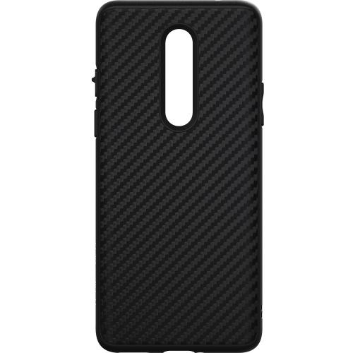 SolidSuit Backcover voor de OnePlus 8 - Carbon Fiber