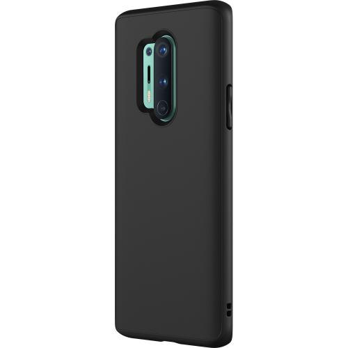 SolidSuit Backcover voor de OnePlus 8 Pro - Classic Black