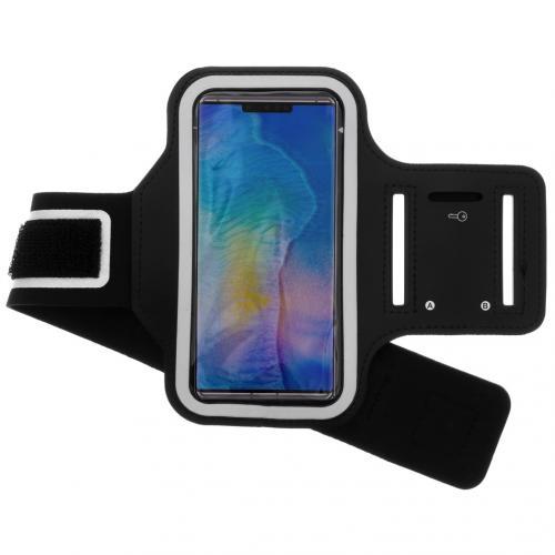 Sportarmband voor de Huawei Mate 30 Pro - Zwart